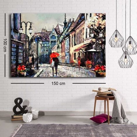 Resim  Özgül C-046 Kanvas Tablo - 100x150 cm