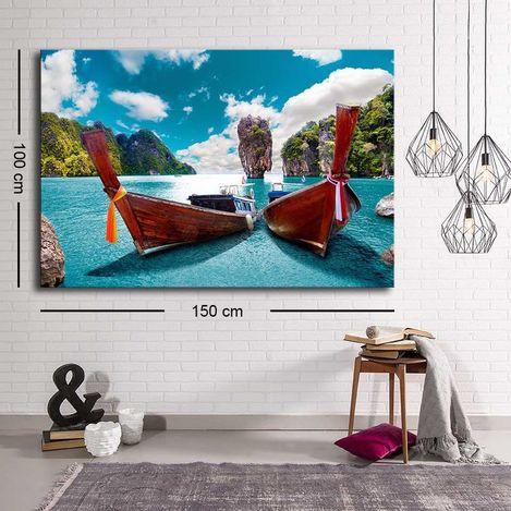 Özgül C-048 Kanvas Tablo - 100x150 cm