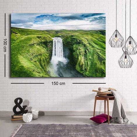 Resim  Özgül C-052 Kanvas Tablo - 100x150 cm