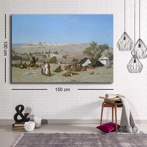 Resim  Özgül C-064 Kanvas Tablo - 100x150 cm