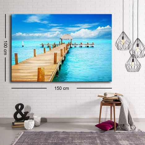 Resim  Özgül C-069 Kanvas Tablo - 100x150 cm