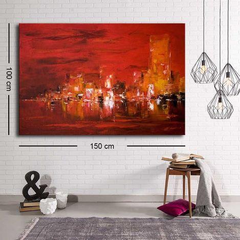 Resim  Özgül Grup C-073 Kanvas Tablo - 100x150 cm
