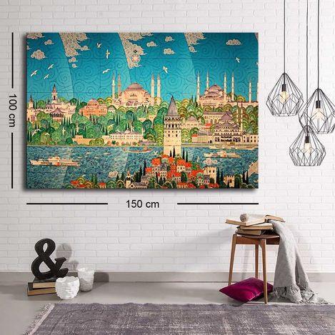 Özgül C-077 Kanvas Tablo - 100x150 cm