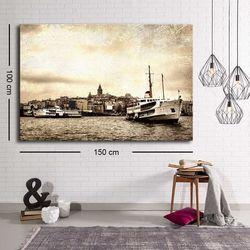 Özgül C-078 Kanvas Tablo - 100x150 cm