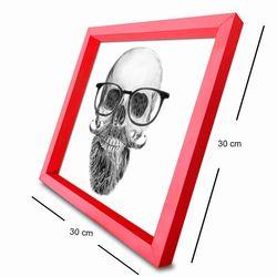 Özgül 3030AHS012 Ahşap Çerçeveli Tablo - 30x30 cm