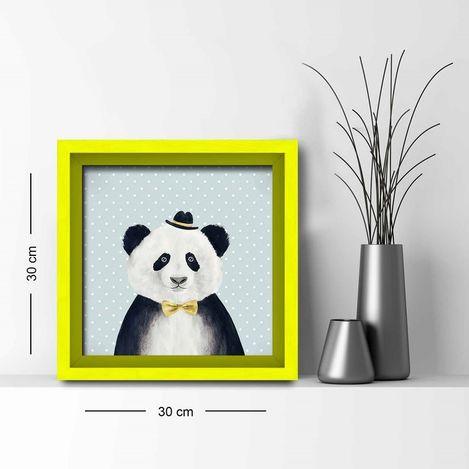 Resim  Özgül Grup 3030AHS016 Ahşap Çerçeveli Tablo - 30x30 cm