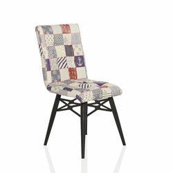 Seduna Duru Sea Patchwork Mutfak Sandalyesi - Çok Renkli