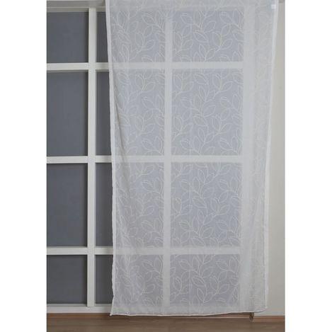 Resim  Premier Home 2091 Tül Perde (Beyaz) - 140x270 cm