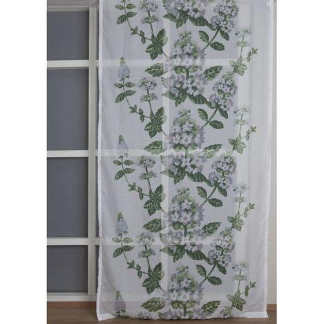 Premier Home 2103 Tül Perde (Yeşil) - 140x270 cm