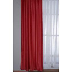 Premier Home 1311 Deco Süet Fon Perde (Kırmızı) - 140x270 cm