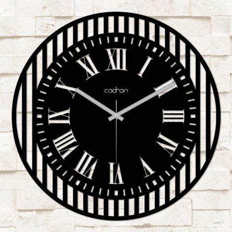 Resim  Cadran MSC095 Metal Ferforje Duvar Saati - 50x50 cm