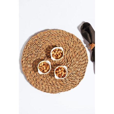 Resim  Kitchen World 0056 El Yapımı Dokuma Lüx Bambu Amerikan Servis
