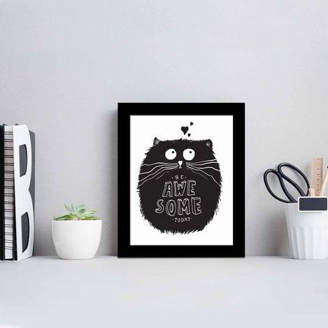 Resim  Özgül SCT-083 Siyah Çerçeveli Tablo - 23,5x28,5 cm