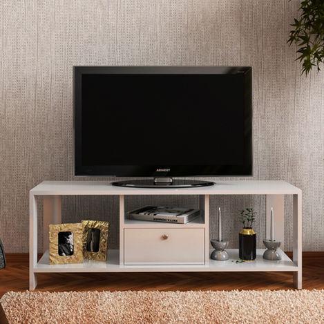 Remaks Gamze Tv Sehpası - Beyaz