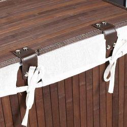 Handy Mate Bambu Çamaşır Sepeti - Kahverengi