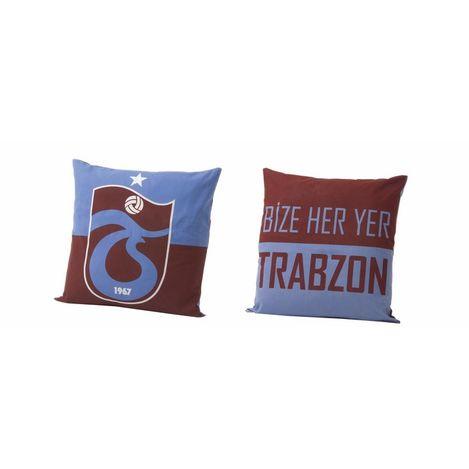 Taç Trabzonspor Logo Kırlent - 40x40 cm