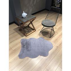 Marka Ev Tavşan Tüyü Post Gri - 70X100 cm