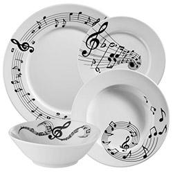 Kütahya Porselen 24 Parça Bitmeyen Senfoni Yemek Seti