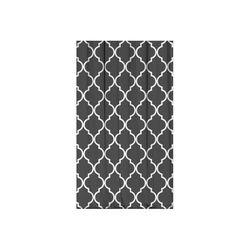 Kozzy Home RFE410 Saten Baskılı Tek Kanat Fon Perde - 135x270 cm