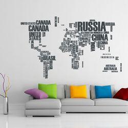 Tilk Dünyası 74934 Dünya Haritası Sticker