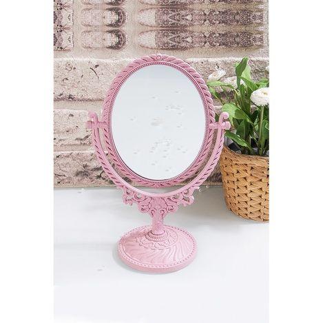 Patrix EV.03369.00 Ayaklı Masaüstü Büyüteçli Makyaj Aynası - Asorti