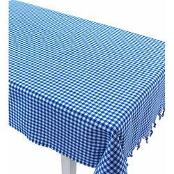 Eponj Home Zifir Piti Kareli Masa Örtüsü - Mavi
