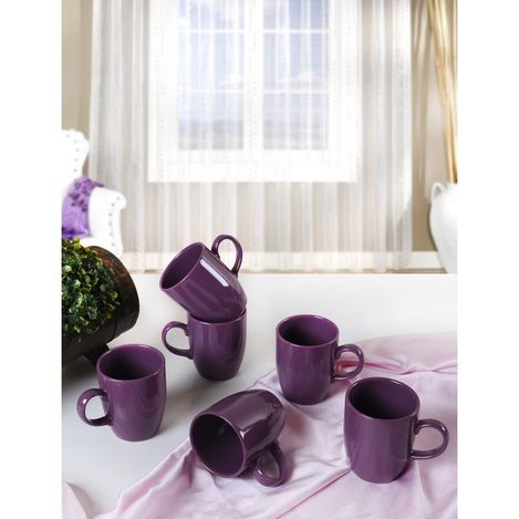 Resim  Keramika 6'lı Bulut Kupa - 9 cm