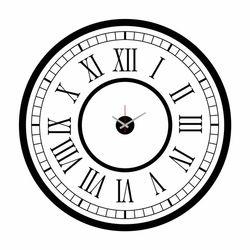 Özgül DEVSS-14 Dev Sticker Saat - 115x115 cm