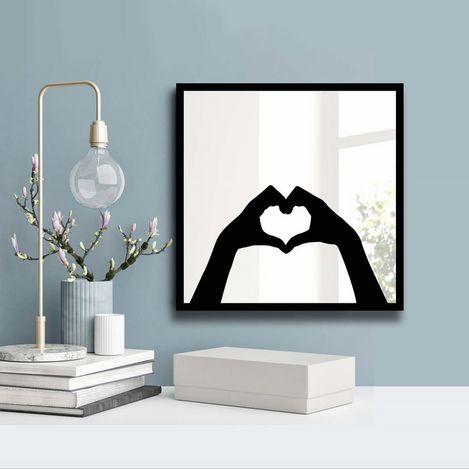 Özgül 3030SA-013 Desenli Dekoratif Ayna