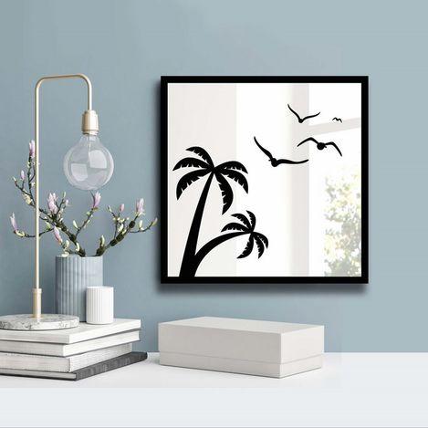 Özgül 3030SA-043 Desenli Dekoratif Ayna
