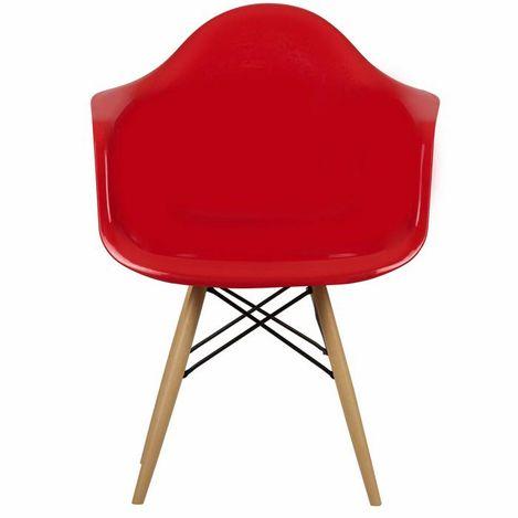 House Line Legos Sandalye - Kırmızı