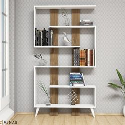 House Line Jane Kitaplık - Beyaz-İstanbul