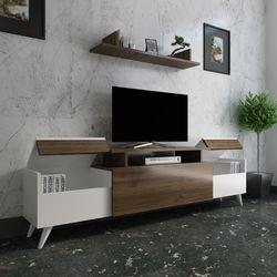 Arnetti Miray Tv Ünitesi - Beyaz / Ceviz