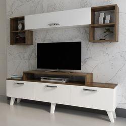 Arnetti Zenne Tv Ünitesi - Beyaz/Ceviz