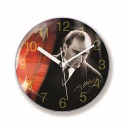 Follow Mıknatıslı Buzdolabı Saati-10cm TG146G2