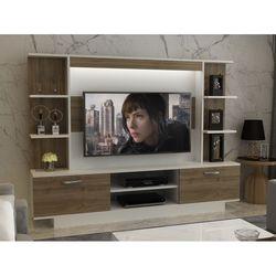 Arnetti Light Tv Ünitesi - Beyaz/Ceviz