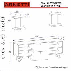 Arnetti Almira Tv Ünitesi - Beyaz