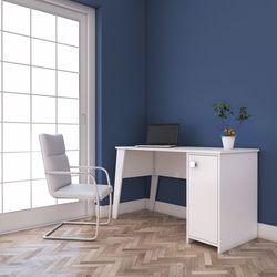 Rani C2 Dolaplı Çalışma Ve Bilgisayar Masası - Beyaz
