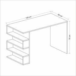 House Line Limber Çalışma Masası - Beyaz