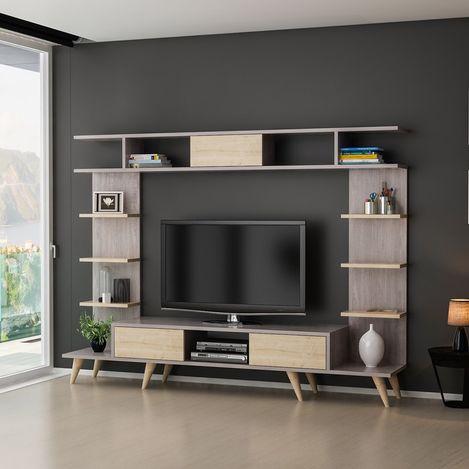 House Line Pan Tv Ünitesi - Kepi Berlin/Safir