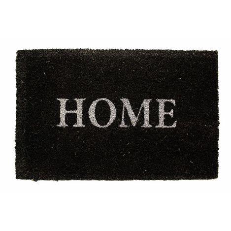 Resim  Giz Home Koko Kapı Paspası 33x55 Antrasit Home