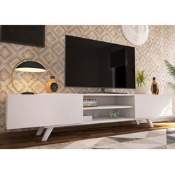House Line Olivia Tv Sehpası - Beyaz Outlet
