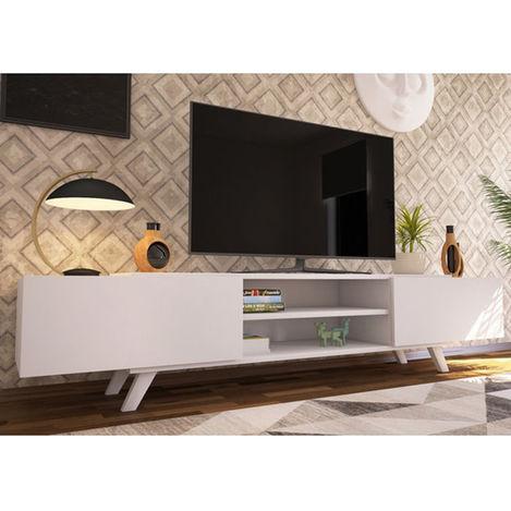 Resim  House Line Olivia Tv Sehpası - Beyaz Outlet
