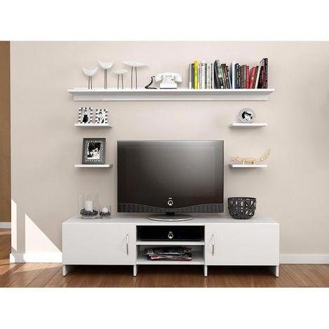 Resim  House Line Diva TV Ünitesi - Beyaz Outlet