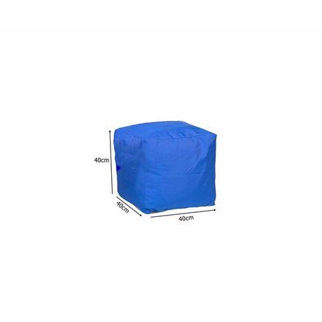 Resim  Armutpark Küp Puf Minder (Mavi)