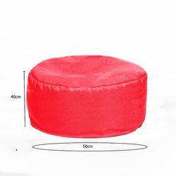 Armutpark Round Seat Puf Minder (Kırmızı)