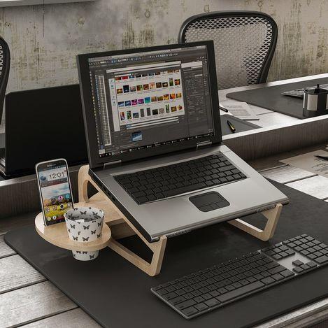 Resim  House Line Zoed Laptop Stand - Sonomo