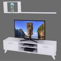 Ankara Mobilya Deka  Beyaz 160 Cm Tv Ünitesi