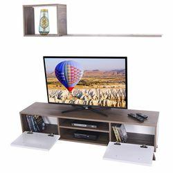 Ankara Mobilya Deka Ceviz Beyaz 160 Cm Tv Ünitesi