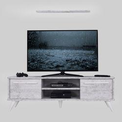 Ankara Mobilya Boreas Eskitme Beyaz 160 Cm Tv Sehpası